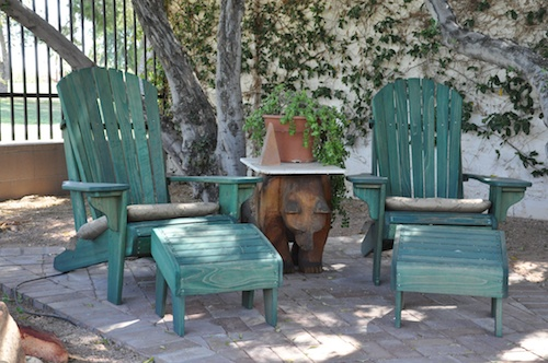 Custom sized Adirondack Chairs