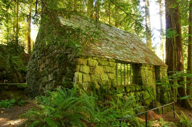 A Stone Cottage Leach Botanic Garden