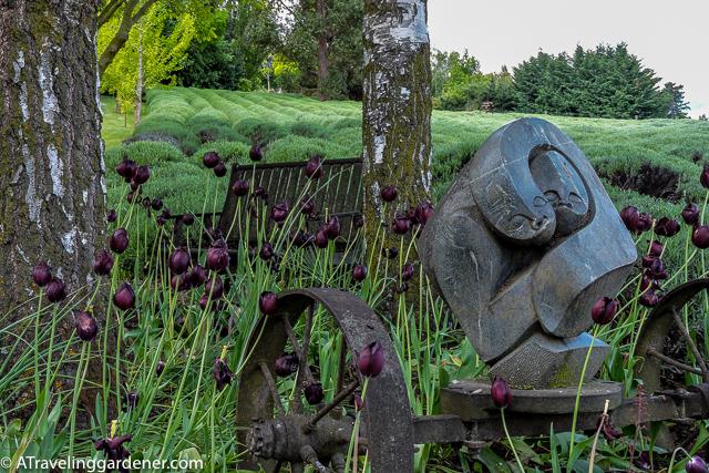 Chantecler, A private garden near Queenstown, NZS