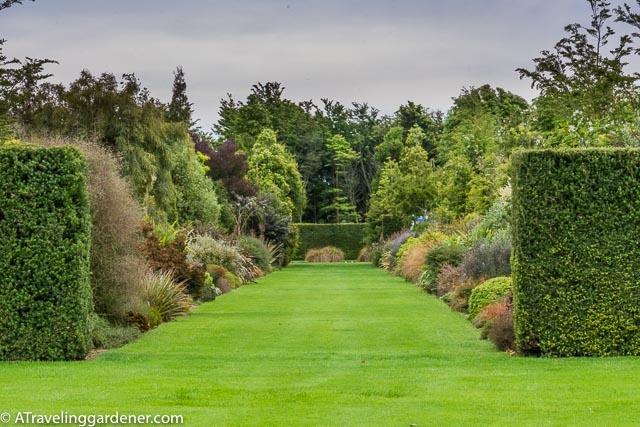 The promenade of native plants