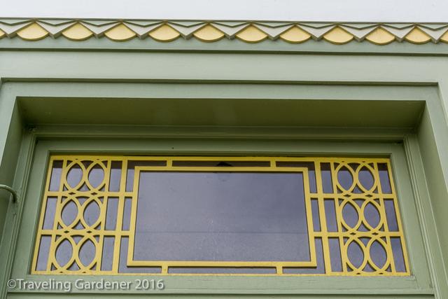 Art Deco Landscape in Gardens of Napier, NZ North Island