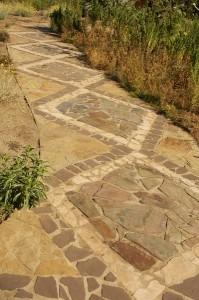 Path in Rancho Santa Ana, Pasadena, CA