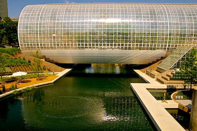 Crystal Bridge, Myriad Park, Oklahoma City, OK