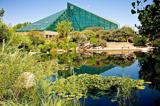 Rio Grande Botanical Garden Conservatory,
