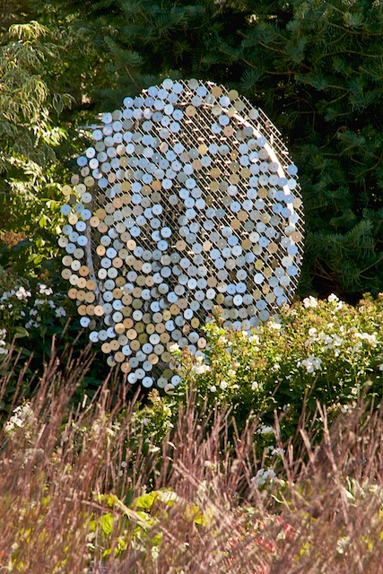 A Robert Sherwood wind sculpture