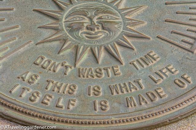 Sundials, Time in a garden