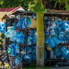 Plastic, so much plastic