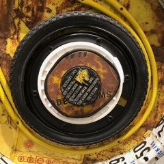 Michelle Stitzlein @ Dorrance Hall DBG--a tire & wire