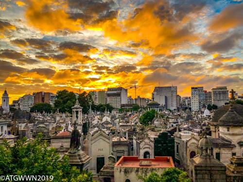 Recoleta Cemetery Buenos Aires, Argentina